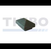 Thibo Post cap 60x40 with roof