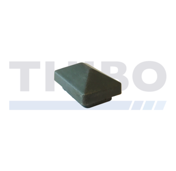 Thibo Post cap 60x40 with roof