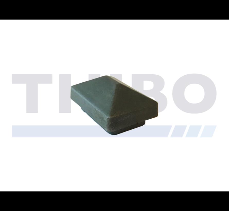 Plastic post cap 60x40 with roof