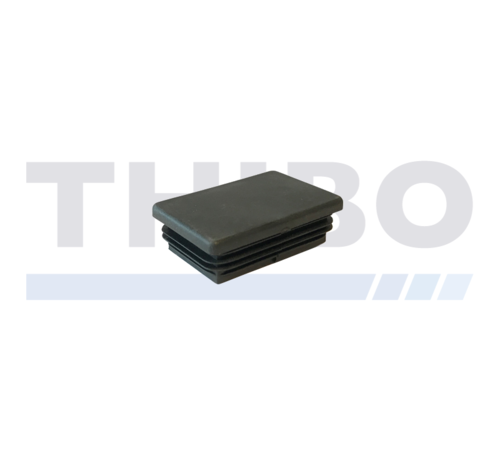 Thibo Capuchon en plastique pour tube 60x40 / 60x60 plat