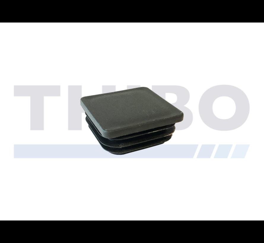 Plastic post cap 60x40 / 60x60 flat
