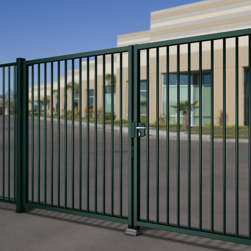 Industrial turning gates