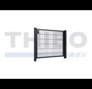 Thibo Metalen tuinpoort met staafmatvulling - Enkel