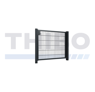 Thibo Double wire mesh single garden gate