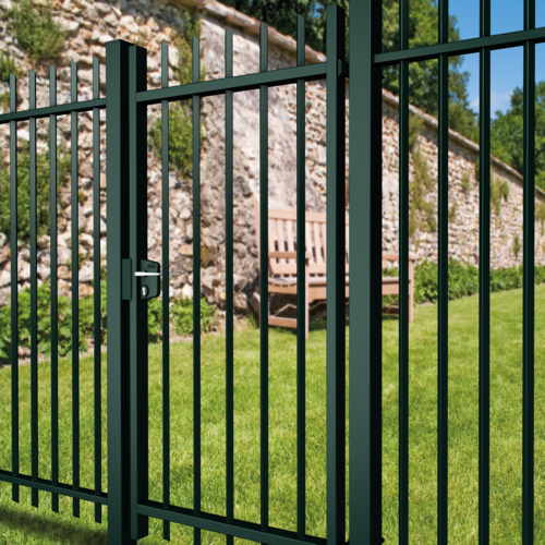 Swing gates and components