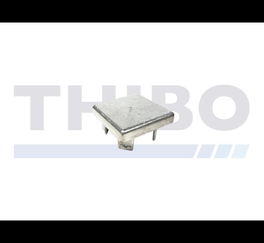 Aluminium-Pfostenkappe 60 x 60 mm