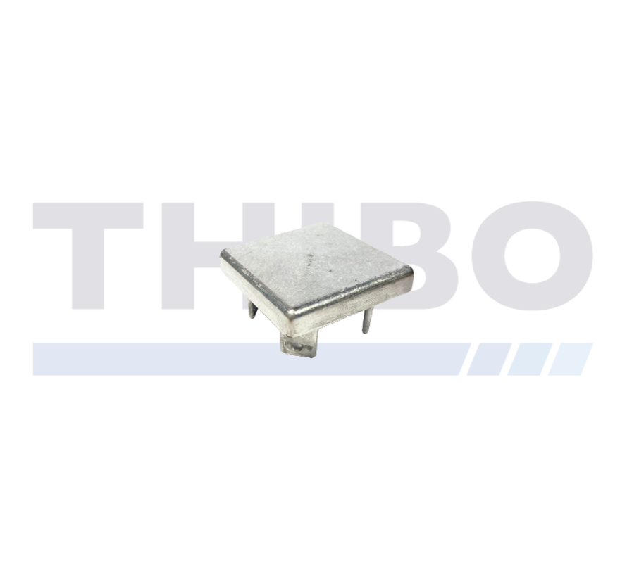 Aluminium post cap 60 x 60 mm