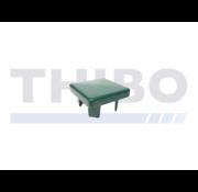 Thibo Aluminium post cap 60 x 60 mm