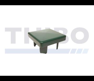 Aluminium post cap 80 x 80 mm