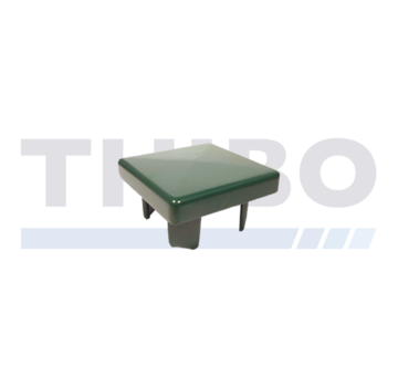 Thibo Aluminium post cap 80 x 80 mm