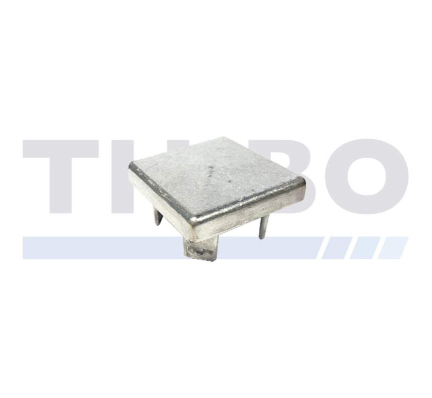 Aluminium-Pfostenkappe 80 x 80 mm