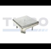 Thibo Aluminium paalkap 100 x 100 mm