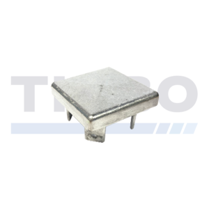 Aluminium post cap 100 x 100 mm