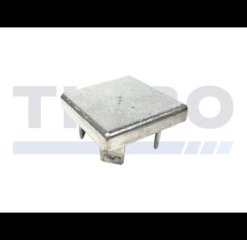 Aluminium-Pfostenkappe 100 x 100 mm