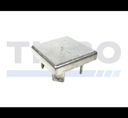 Capuchon en aluminium 100 x 100 mm