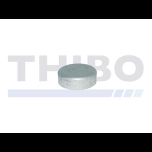 Aluminium post cap Ø60 mm