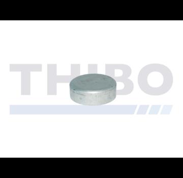 Thibo Aluminium-Pfostenkappe Ø60 mm
