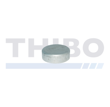 Thibo Aluminium post cap Ø60 mm