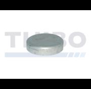Thibo Aluminium post cap Ø89 mm