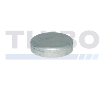 Aluminium paalkap Ø89 mm