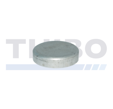 Thibo Aluminium post cap Ø89 mm