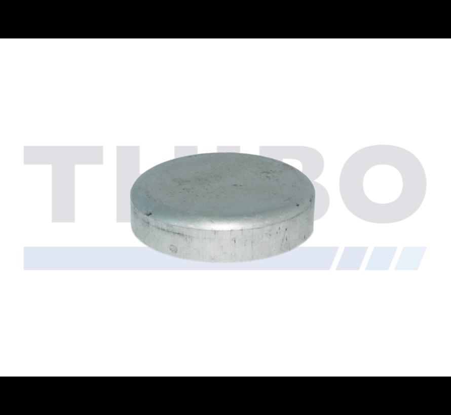 Aluminium post cap Ø89 mm