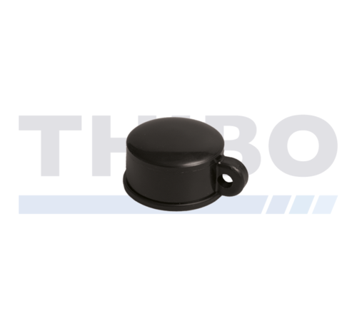 Thibo Plastic post capa for round fencing posts - with wire eye
