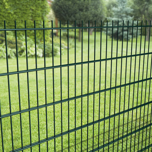 Double wire mesh panels