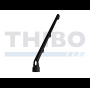 Thibo Stacheldrahtstütze 3 Drähte - Abgewinkelt