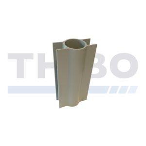 Concrete mowstrip holders for Ø60 mm fencing posts
