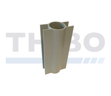 Thibo Concrete mowstrip holders for Ø48 / 60 mm fencing posts