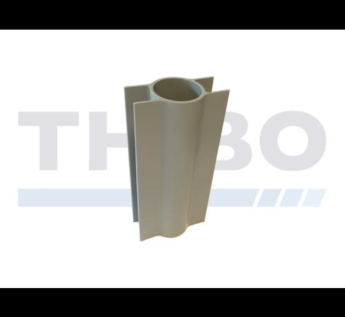 Thibo Bordsteinhalter für Ø48 / 60 mm Rohrpfosten