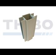 Thibo Supports de plaque en béton pour poteaux 60 x 60 mm