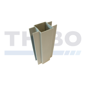 Kantplankhouders voor 60 x 60 mm staanders