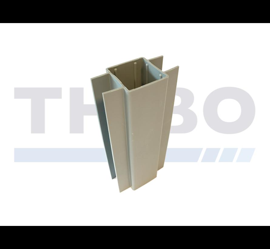 Bordsteinhalter für 60 x 60 mm Pfosten
