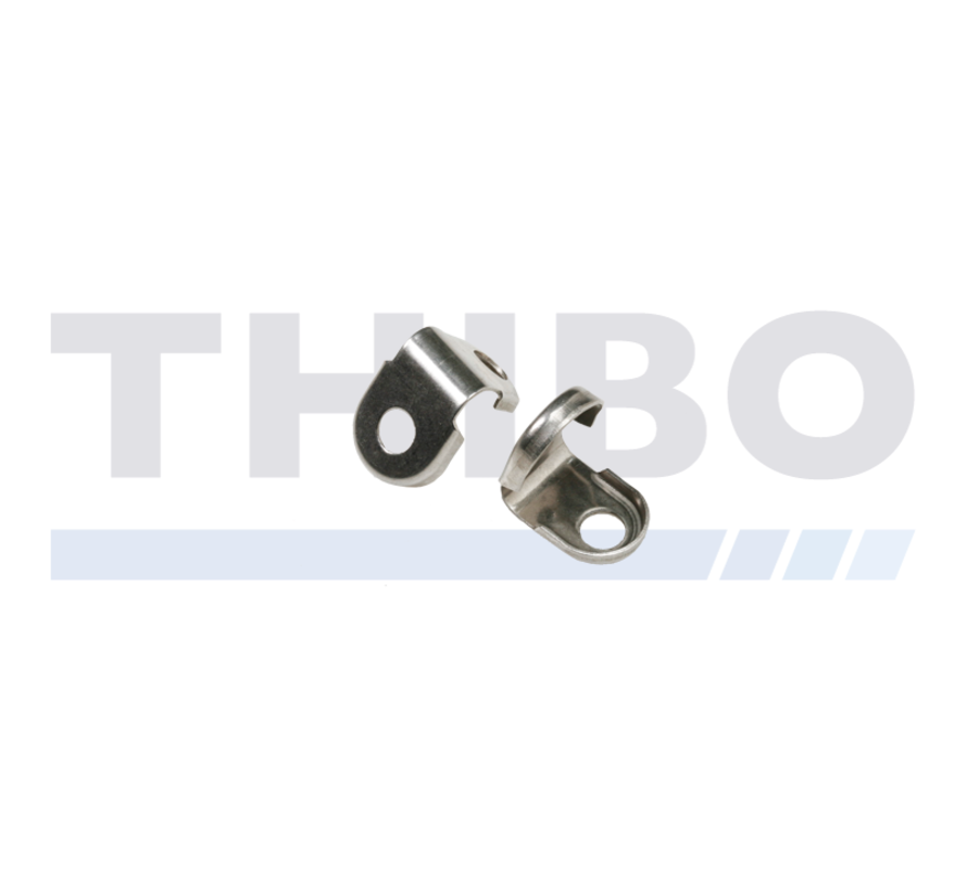 Stainless steel tension rod clamp