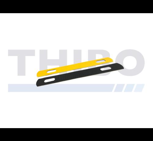 Thibo Bande de caoutchouc pour collier longue pour clôture en panneau double fils
