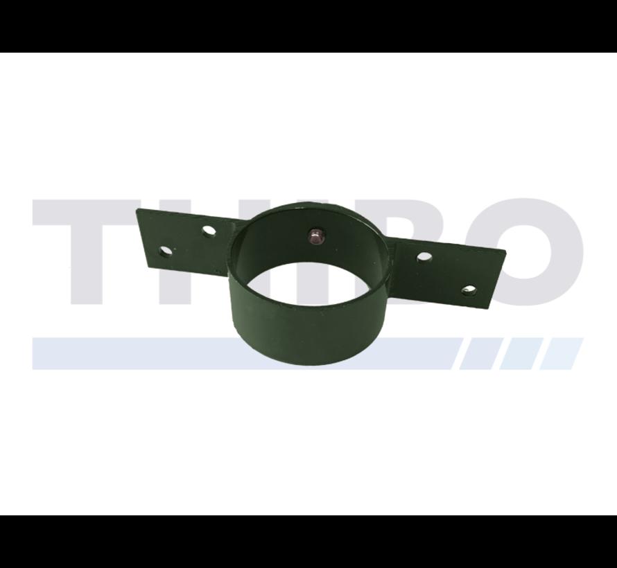 Holzzaun Halterung für Ø60 mm Rohrpfosten