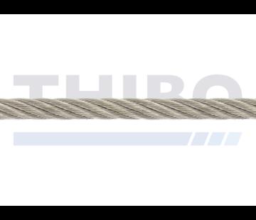 Thibo Stahlseil Edelstahl 5 mm