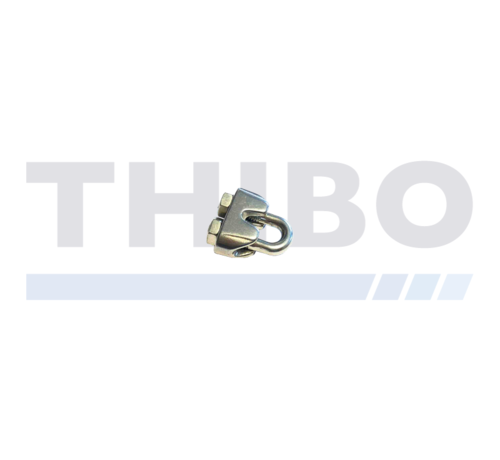 Steel cable clamp 5 mm