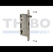 Thibo Stainless steel insert lock for wooden gates HWOOD