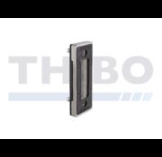 Thibo Gâche avec fixation Quick-Fix pour serrure coulissant