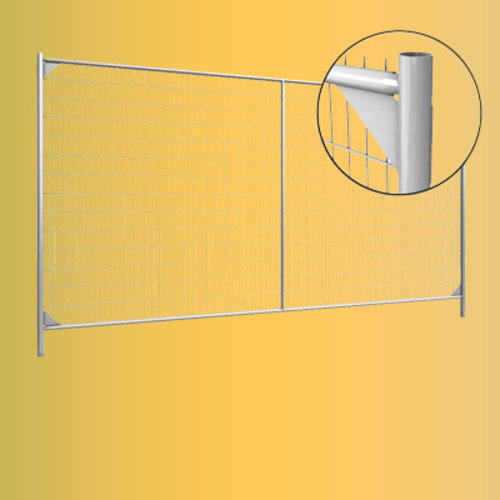 Mobile fences and accessories