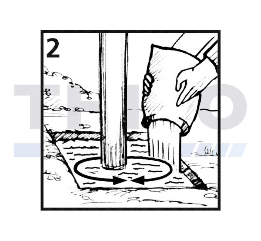 Mortier de béton à prise rapide