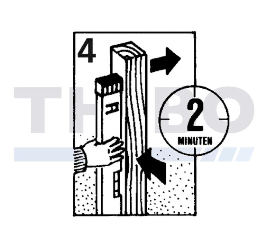 Schnell erhärtender Betonmörtel