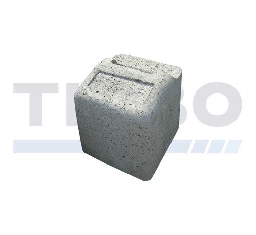Thibo Hoog betonnen aanslagblok voor industriële of designdraaipoorten