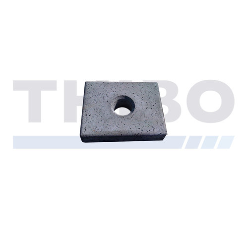 Concrete mowing tile