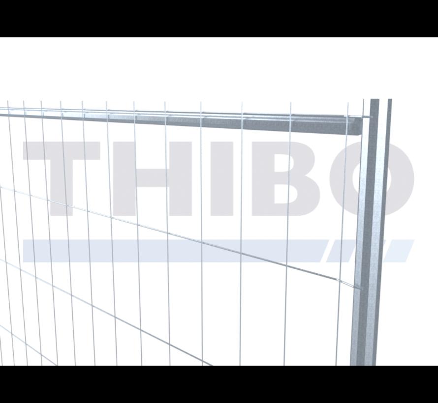 Budget mobile fence pre-galvanized