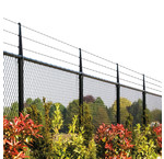Wire fence and wire