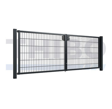 Thibo Double wire mesh double garden gate
